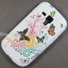 Butterfly Case Back Cover For Samsung Galaxy Trend S7560 Ace II X S7560M S Duos
