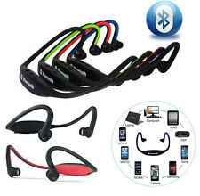 For iPhone LG SAMSUNG Wireless Bluetooth Stereo Headphone Sport Headset Earphone