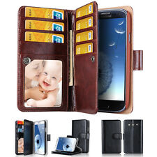 Top Luxury Magnet multifunction Card Flip Wallet Stand Case For iPhone 6 Plus