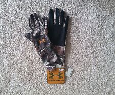 NEW UNDER ARMOUR CAMO REALTREE AP Hunting Liner Gloves men M L 1203060