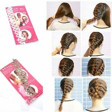 Fashion Womens Girl Magic Hair Braid Tool Roller Twist Hair Styling Bun Maker x1