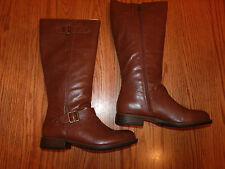 NEW WOMENS KENNETH COLE REACTION RIDING BOOTS BROWN TALL SIZE 6