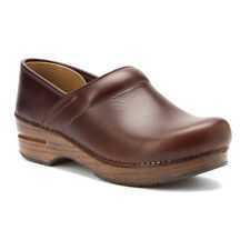 Dansko Womens PROFESSIONAL WIDE Espresso Oiled Leather Pro Clogs Shoes 399067878