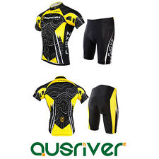Men Sport Team Cycling Bike Comfortable Clothing Jersey Shirts Short Pants Suit