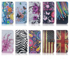 Fashion Printed PU Leather Cute Lovely Holder Wallet Stand Flip Pouch Cover Case