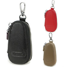 New Men women's durable Genuine Leather Car Key Holder Accessory Key Chain bag