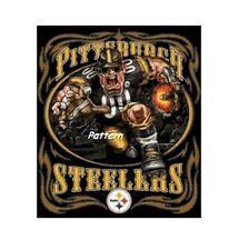 Pittsburgh Steelers Mascots, Helmets. Cross Stitch Pattern. Paper version or PDF