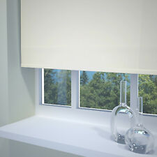 Made to measure Plain White Roller Blind plus Many More Colours