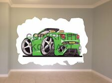 Huge Koolart Cartoon Ferrari California Wall Sticker Poster Mural 2867
