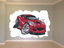 Huge Koolart Cartoon Ferrari Marinello Wall Sticker Poster Mural 1592