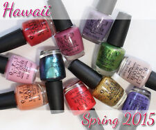OPI NAIL POLISH Hawaii 2015 Collection - You Pick your Shade/s