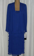 J. R. Nites Blue Jacket Dress Event or  Mother of the Bride Dress