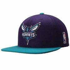 CHARLOTTE HORNETS Mitchell & Ness Snapback Cap NBA Adjustable Hat Snap