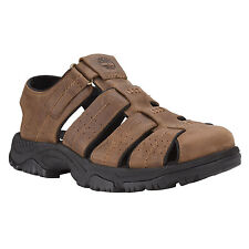 Mens Timberland Earthkeepers Crawley Fisherman Sandal Brown 7835A