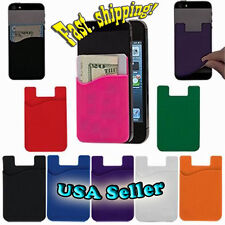 3M Self Adhesive Stick Card/ID/Cash Holder for any Cell phone. UNIVERSAL.