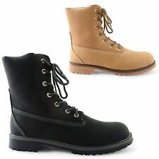 NEW MENS FLAT LOW HEEL ARMY MILITARY ANKLE COMBAT FASHION BOOTS UK SIZE 6-12