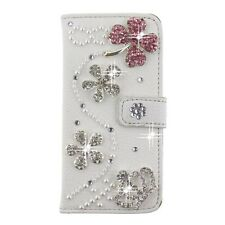 S*ACT NEW Bling leather wallet card case for apple iphone 6 plus 5.5  lcd & ---