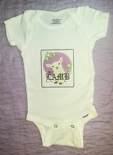 Cute LAMB Gwen Stefani inspired onesie for baby girl made with 100% soft cotton