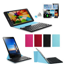 "Bluetooth Keyboard + Universal Removable Case Cover For 9"" 10"" 10.1"" Tablet PC"