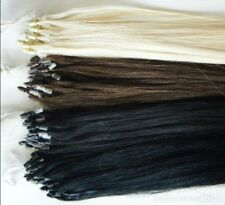 "22"" 20"" & 18"" AAA Indian Remy Human Micro Ring Hair Extensions 1g/s 25s pack"