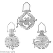 1PC Hollow Box Pendant Bola Angel Cage Sound Bell Ball Beads DIY