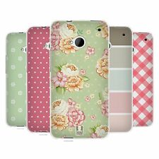 HEAD CASE FRENCH COUNTRY PATTERNS SILICONE GEL CASE FOR HTC ONE