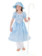 Childrens Kids Little Bo Peep Book Day Fancy Dress Costume Ages 3-11Yr Victorian