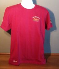 Genuine Indian Motorcycle Red Short Sleeve Munro Speed Record Tee Vintage Look