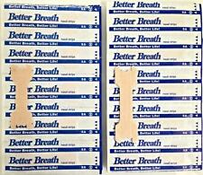 200 BETTER BREATH NASAL STRIPS SM/MED OR LARGE TAN - RIGHT AID TO STOP SNORING