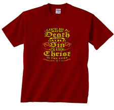 Life is a Maybe Death is For Sure Sin is The Cause Christ Shirt