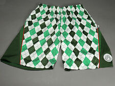 NEW Flow Society Argyle Green LAX Lacrosse Shorts Youth Boys Retails for $26-$34
