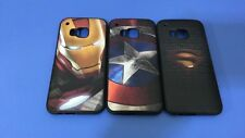 2015 New Cartoon Super Hero Soft TPU Cover Case For HTC One M9