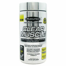 """Muscletech Clear Muscle 84/168 Liquid Caps Build Muscle Fast """"FREE SHIPPING"""""""