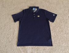 Adidas NOTRE DAME IRISH Puremotion Performance Golf Polo shirt M L XL XXL Navy