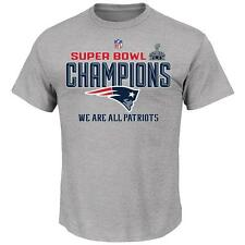 New England Patriots NFL Youth Size Super Bowl XLIX Champions Collection T-Shirt