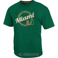 Colosseum Athletics Men's Miami Hurricanes Orbit Short-Sleeve T-Shirt
