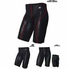 Mens Compression Shorts Running Tight Base Layer Shorts Muscle Line FR