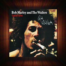Bob Marley Catch A Fire - PP Signed Autographed Framed Photo/Canvas Print