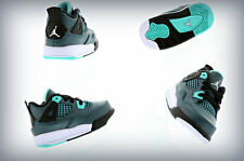 Nike Infant (TD)  toddler Air Jordan 4 IV Teal White Black  308500-330
