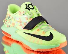 Nike KD VII 7 GS Easter kids basketball shoes low NEW liquid lime black
