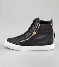 New genuine leather GZ mens womens Leisure high help alligator shoes Sneakers