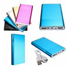 20000mAh USB Caricabatteria Esterna  Power Bank Per Tablet Smartphone Cellulare