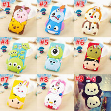 3D Cute disney Kids Cartoon Soft Silicone Case Cover For Samsung galaxy S5 note4