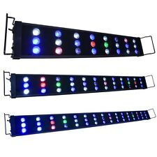 "24""-48"" LED Aquarium Light Multi-Color Coral Reef Marine Fish Tank 72W/108W/144W"