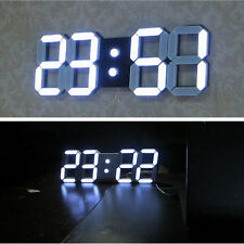 Jumbo Large Modern Design Digital Led Wall Clock Watches 24 or 12-Hour Display