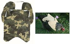 Hensaver Apron with Removable Shoulder Protector for Hen - pecking by roosters