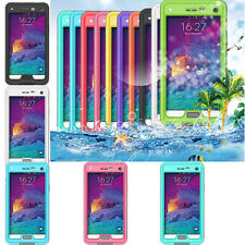 Fashion Waterproof Shockproof Touch Screen Case Cover for Samsung Galaxy NOTE 4