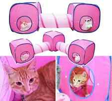 Cat Kitten Play Tunnel&Tent Playground Toys Foldable Cat play house outdoor