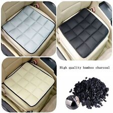 New Bamboo Charcoal Breathable Seat Cushion Cover Pad Mat For Car Office Chair