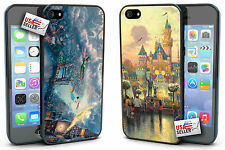 Disney Peter Pan and Disneyland Hard Case TWO PACK for iPhone 4, 4s, 5, 5s, 5c
